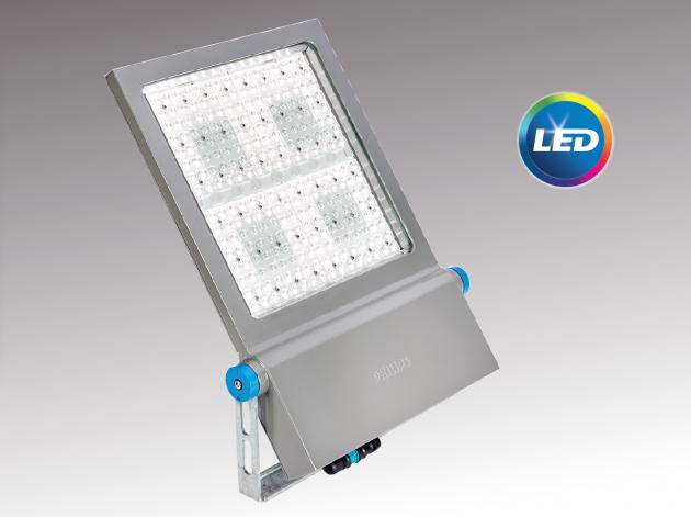 Philips launches the clearflood large led luminaire for Luminaire exterieur led philips
