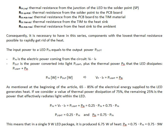 Thermal management of LED | Voltimum Australia