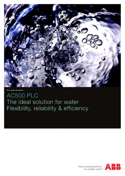 ABB PLC water brochure | Voltimum Australia